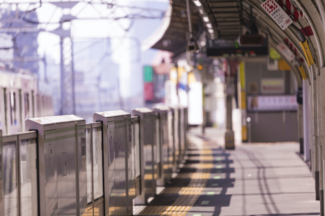人のいない駅
