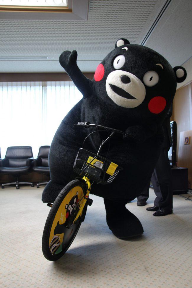 くまもん自転車