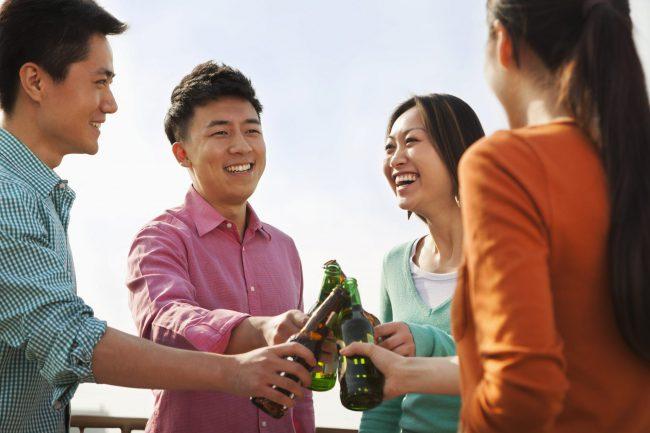 中国でも、若い世代は深酒しない